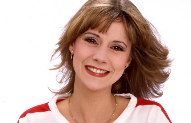 """Photo de Dorothée en 1982 pour la pochette de """"Hou la menteuse"""""""