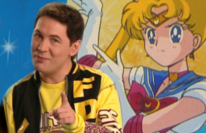 Bernard Mini dans le clip de Sailor Moon