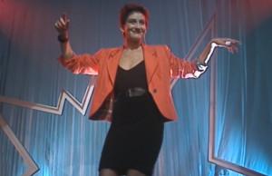 Caroline Loeb chante C'est la ouate au Jacky Show
