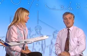 Dorothée et Michel Chevalet dans le Club Sciences consacré à l'aviation