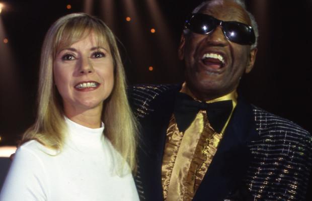 Dorothée et Ray Charles en 1993