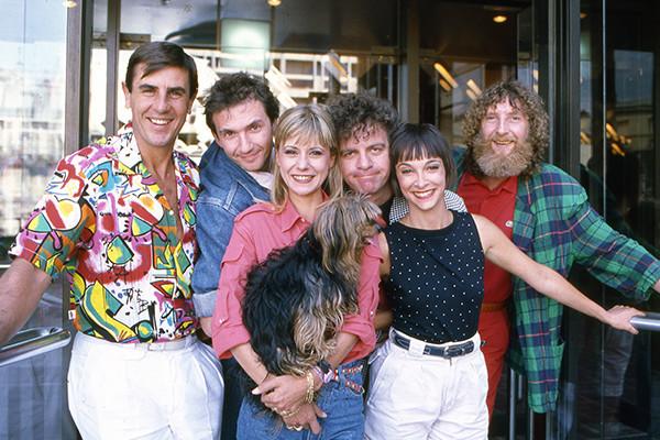 Dorothée et son équipe en 1987