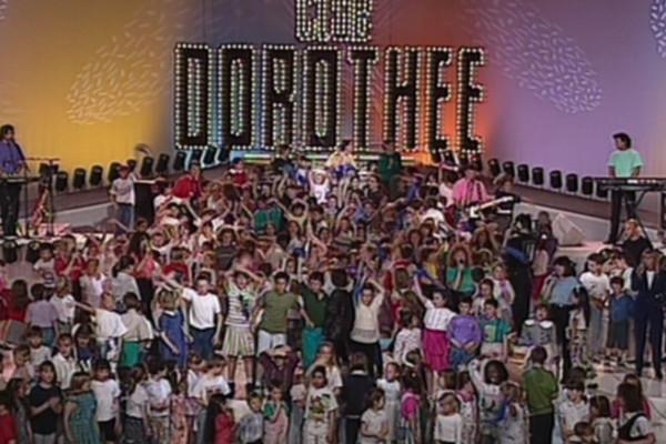 Le plateau du Club Dorothée le 15 mai 1993