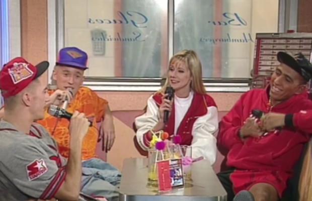 Les rappeurs de Benny B invités au Club Plus en 1992
