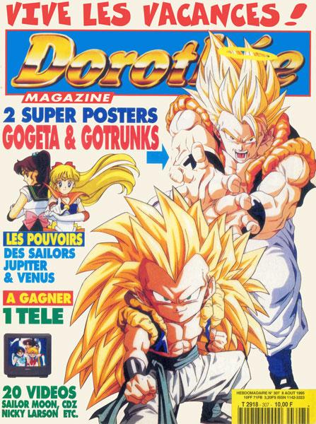 Une-du-Dorothée-Magazine-avec-Dragon-Ball-Z-en-1995