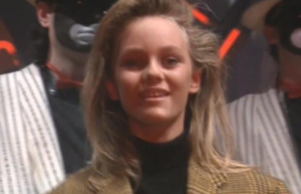 "Vanessa Paradis chante ""Joe le Taxi"" au Jacky Show en 1987"