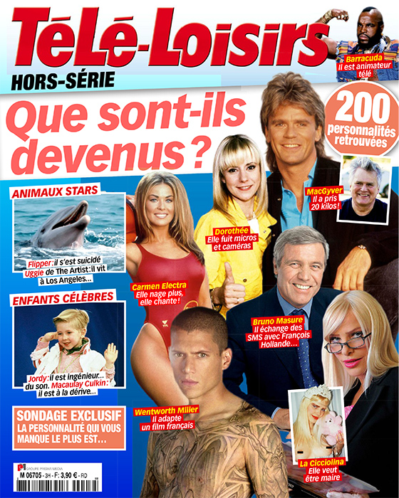 Le hors-série de Télé Loisirs avec Dorothée en couverture.