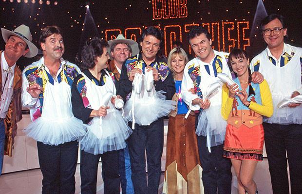 Toute l'équipe du Club Dorothée en 1995
