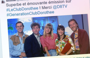 Club Dorothee le tweet d'un fan nostalgique