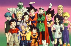 Les personnages de Dragon Ball Z au Club Dorothée