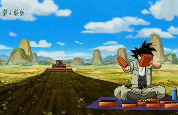 Dans Dragon Ball Super, Sangoku a toujours le même appétit