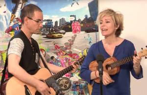 Marie Dauphin reprend Clémentine dans une version acoustique