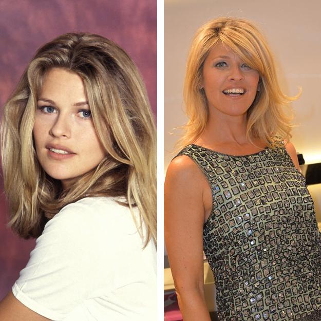 Lynda Lacoste en 1992 et en 2014
