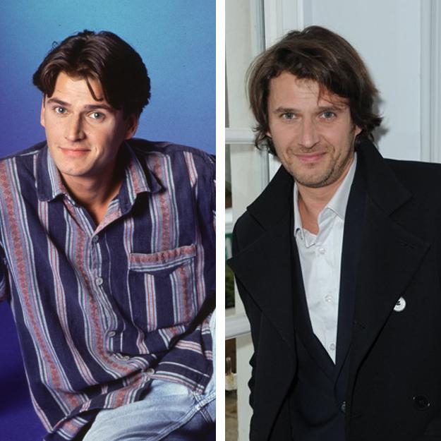 Sébastien Courivaud en 1992 et en 2013